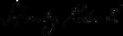 Unterschrift von Stanley Kubrick