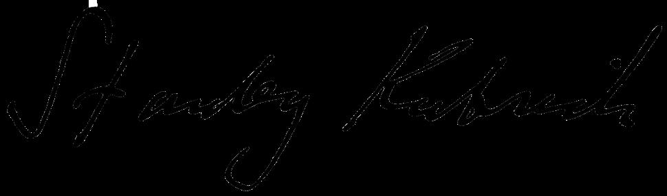 Stanley Kubrick Signature