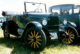 Durant Motors - Star Touring 1922