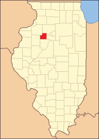 Stark County, Illinois - Image: Stark County Illinois 1839