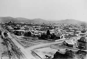 South Brisbane, Queensland - View of South Brisbane c.1895