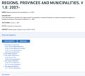 Statistics Denmark nomenclature of Regions, provinces and municipalities. v 1.0- 2007-.png