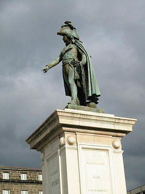 Charles-François Lebœuf - Image: Statue general desaix