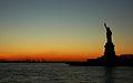 Statue of Liberty at sunset.jpg