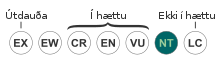 Status iucn3.1 NT-is.svg