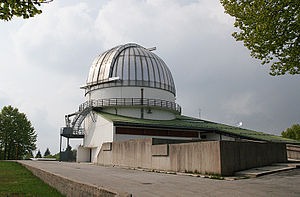 Cima Ekar Observing Station - Cima Ekar Observing Station in 2009