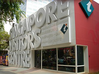 Singapore Tourism Board - Singapore Visitors Centre along Orchard Road, providing tourism information for tourists in Singapore.