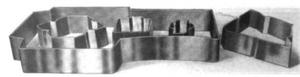 Die (manufacturing) - Image: Steel rule die 2