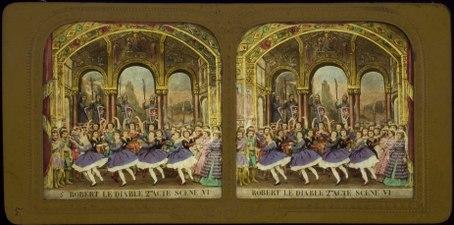 Stereokort, Robert le Diable 5, acte II, scène VI - SMV - S107b.tif