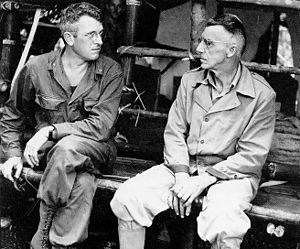 Joseph Stilwell - Gen. Frank Merrill (left) with Stilwell in Burma