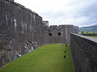 Stirling Castle outer ditch.jpg