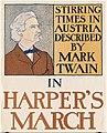 Stirring times in Austria described by Mark Twain in Harper's March - 10559722354.jpg