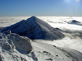 Protected areas of Scotland - The mountain of Stob Binnein lies in the Loch Lomond and The Trossachs National Park.