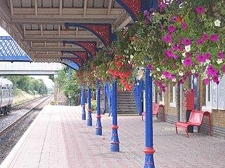 Stoke Mandeville railway station Railway station in Buckinghamshire, England