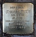 Stolperstein Bamberger Str 7 (Wilmd) Johanna Lesser.jpg