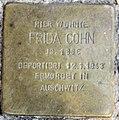Stolperstein Droysenstr 18 (Charl) Frida Cohn.jpg
