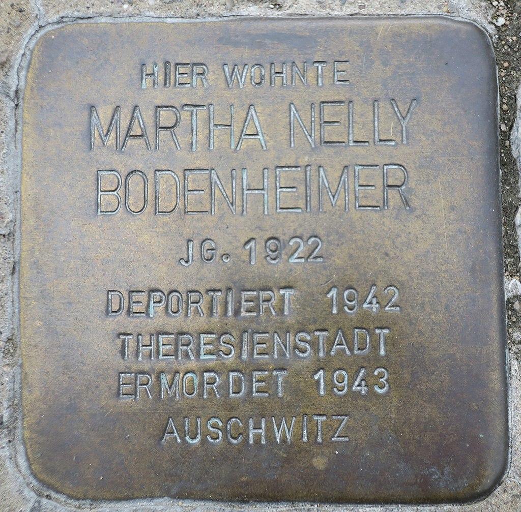 Stolperstein Martha Nelly Bodenheimer Kehl.jpg