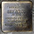 Stolperstein Sanderstr 20 (Neuk) Max Adler.jpg