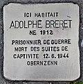 Stolperstein für Adolphe Breret (Le Grand-Village-Plage).jpg
