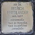 Stolperstein für Bedrich Friedlander.jpg