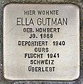 Stolperstein für Ella Gutman (Heidelberg).jpg