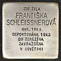 Stolperstein für Frantiska Schleissnerova.jpg