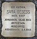 Stolperstein für Sara Gesess (Padua).jpg