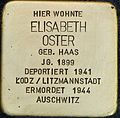 Stolpersteine Köln Blumenthalstrasse 15 Elisabeth Oster.jpg