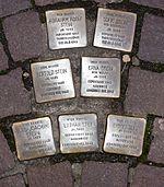 Stolpersteine Seligenstadt STEIN Aschaffenburger Strasse 2.jpg