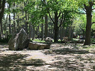Rockcliffe Park, Ontario - The Stone Circle, Rockcliffe Village Green