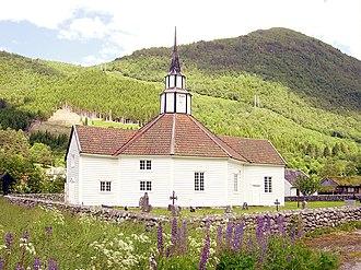 Old Stordal Church - Image: Stordal gamlekyrkje HH