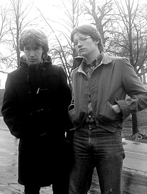 Storm Bugs - Philip Sanderson (left) and Steven Ball (right) in 1979.
