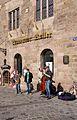 Strassenmusiker beim Nassauer Keller Karolinenstrasse Nürnberg IMGP2179 smial wp.jpg
