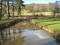 Stream in front of Groombridge House - geograph.org.uk - 1736658.jpg
