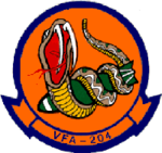 Strike Fighter Squadron 204 (US Navy) insignia, 1992.png