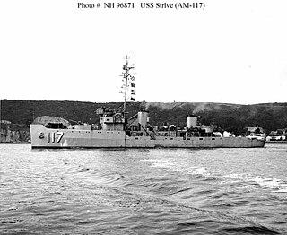 USS <i>Strive</i> (AM-117)