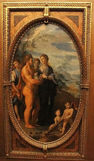 Iole - Santi di Tito: Iole and Hercules