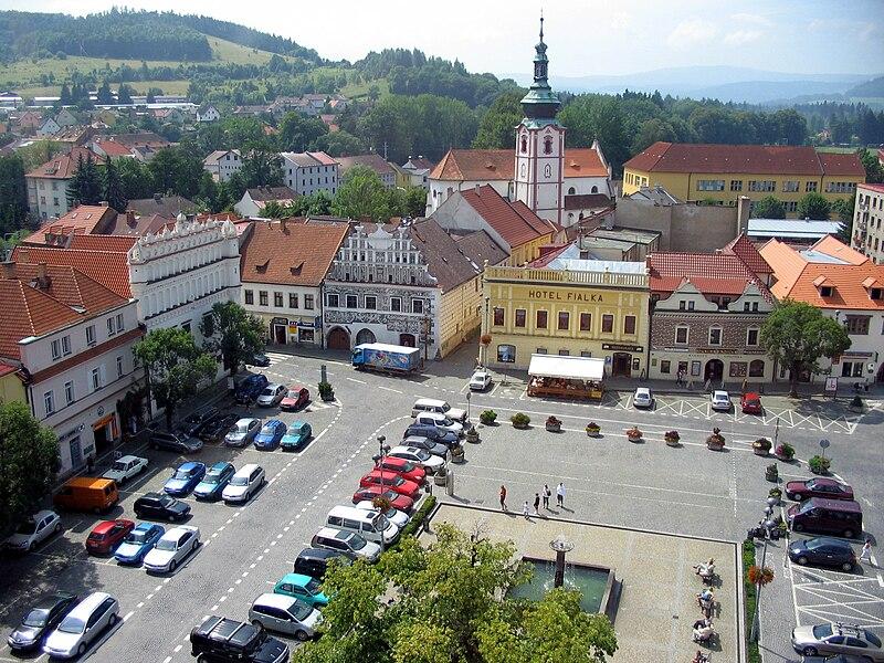 náměstí v Sušici