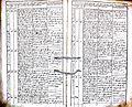 Subačiaus RKB 1832-1838 krikšto metrikų knyga 141.jpg