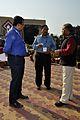 Subhabrata Chaudhuri - Indranil Sanyal - Anil Shrikrishna Manekar - Science City - Kolkata 2014-02-13 2675.JPG
