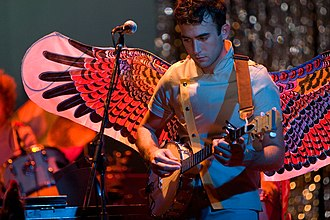 Sufjan Stevens - Stevens performing at the Pabst Theater in Milwaukee, Wisconsin