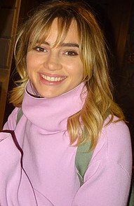 British model, actress and singer