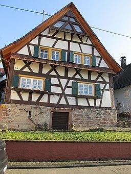 Dorfstraße in Gaggenau