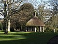 Summer house in winter, Dartington - geograph.org.uk - 1190210.jpg