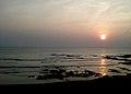 Sunrise time at Bheemunipatnam beach.jpg