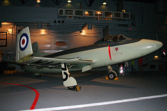 Supermarine Attacker - Attacker F.1 WA473 displayed the Fleet Air Arm Museum (2011)