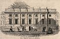Surgeons' Hall, Old Bailey, London, the facade, with various Wellcome V0013129.jpg