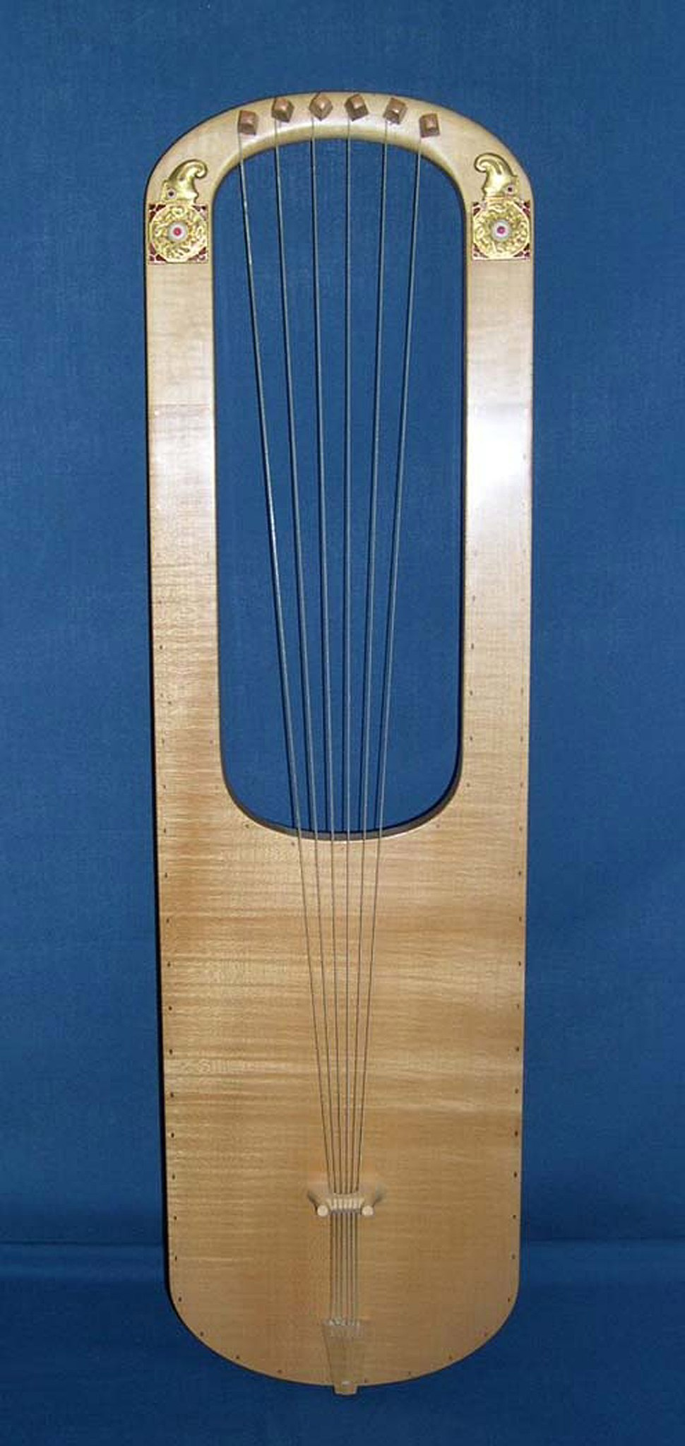 Sutton Hoo lyre (reconstruction)