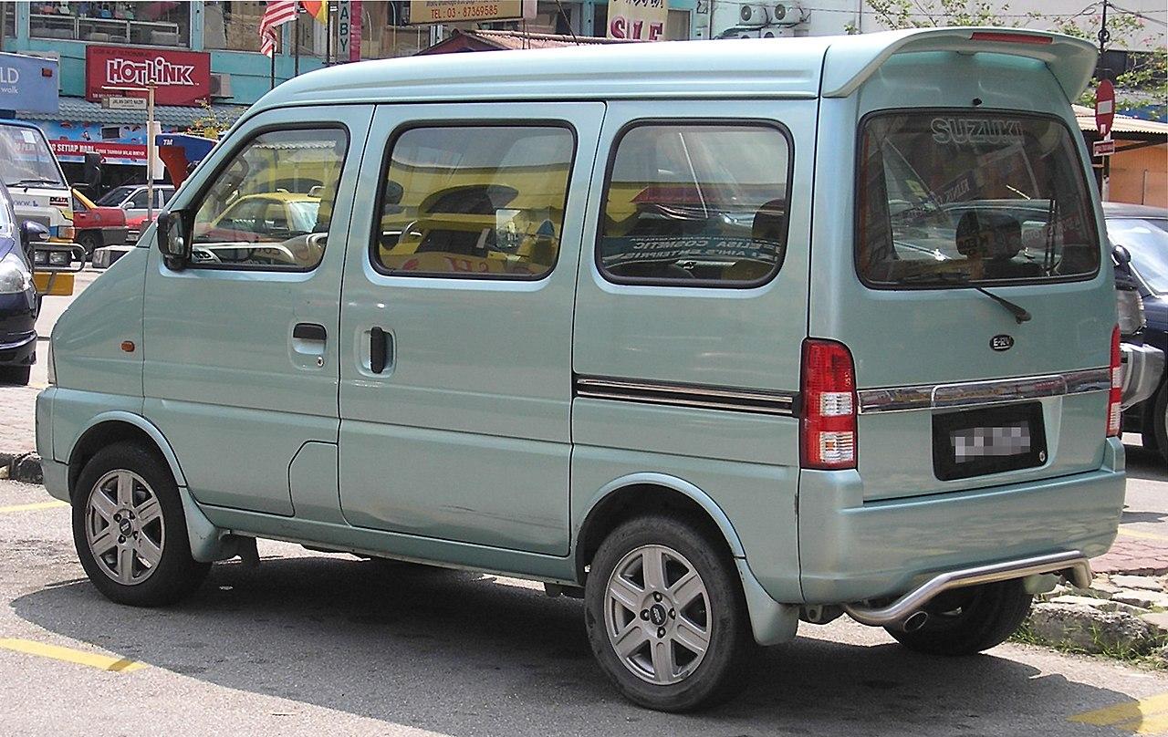File:Suzuki E-RV (rear), Kajang.jpg - Wikimedia Commons