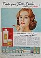 Suzy Parker - Only your Fuller Dealer can bring you Juvené, 1956.jpg